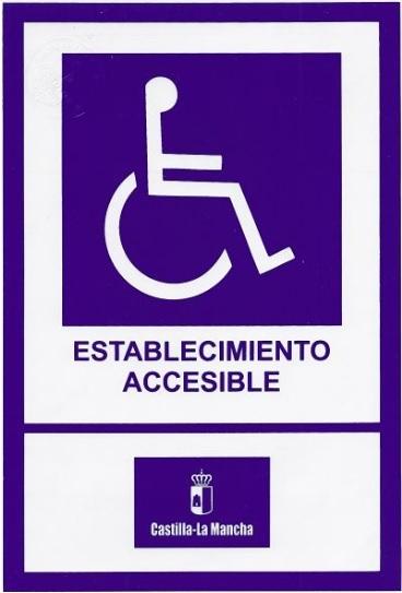 Acreditación de establecimiento accesible